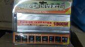 محول كهرباء من 12 w الى 220 V  قوه 1500 W