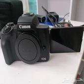 كاميرا كانون eos m50 ومعدات تصوير