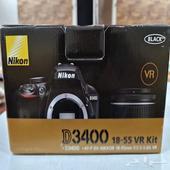 للبيع كاميرا نيكون Nikon D3400