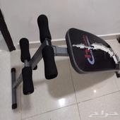 للبيع العاجل كرسي تمرين لعضلات البطن وغيرها