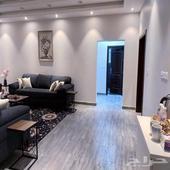 شقة مفروشة جديدة فاخرة جدا ثلاث غرف وصالة