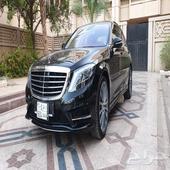 مرسيدس S400 موديل 2015 مخزن العداد 17 ألف كم