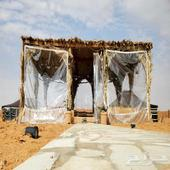 مخيم للايجار vip بالعاذرية عرض خاص للسبت