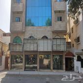 محلات للاستثمار دورين على شارع ام القرى