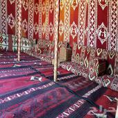 مخيم شادن للايجار طريق القصيم معبر الجمال