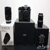 للبيع كاميرا Fujifilm X-T3 مع عدستين