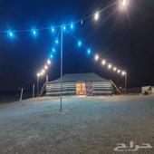 مخيم(للإيجار)شمال الرياض بعد كبري الملك سلمان