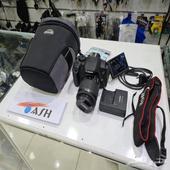 كاميرا كانون 700D مع عدسة 18_55 مانع اهتزاز