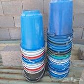للبيع 32 سطل مستخدمه