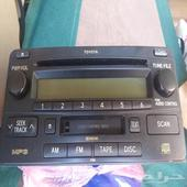 مسجل راديو جيب لاندكروزر 2009 جديد