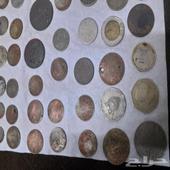 عملات تراثية ترجع للملك عبدالعزيز 90 عملة