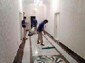 شركة تنظيف فلل شقق خزانات ومكافحة ورش الحشرات