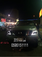 شمعات باترول بلاتينيوم امامية وخلفيه من موديل 2010 2015