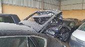 BMW X6 2008 مصدوم من الخلف تشليح