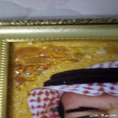 Handmade painting from amber Stones for sell