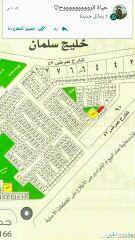 للبيع ارض شارعين في 100ج س حي البحيرات