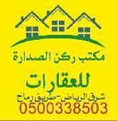أراضي للبيع شرق الرياض  طريق رماح بأسعارجيده