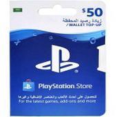 بطاقة ستور 50 دولار متجر سعودي