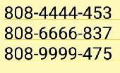 رقم مضمون امريكي للتفعيل   اي رقم ب15 الحققق