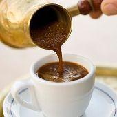 سبرتاية نحاس مع كنكة مميزة صانعة القهوة