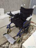 كرسي متحرك كهربائي للبيع على السوم شبه جديد