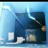 عزل خزانات مع الغسيل
