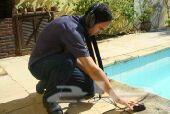 كشف تسربات المياه بدون تكسير عزل أسطح خزانات