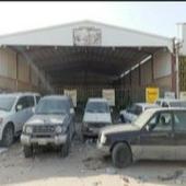 ورشة سيارات في صناعية حفرالباطن للبيع
