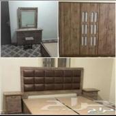 غرف نوم جديدة جاهزة ب1800ريال