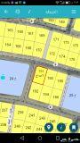 نصف أرض للبيع بمخطط الأمواج مساحة532م ركنية م