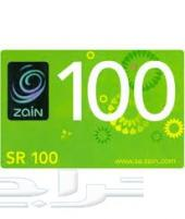 بطاقات شحن زين 100 ب 96 ريال