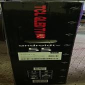 شاشة تي سي ال 55 بوصه كيو ال اي دي نظام اندرويد QLED