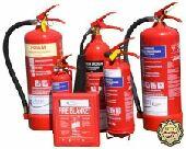 طفايات حريق و جميع وسائل السلامة