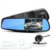 كاميرا السيارة الحديثة أمامية وخلفية مع مرايا