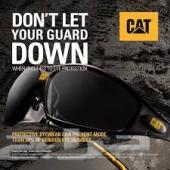 نظارة Cat شمسية للسلامة اسود