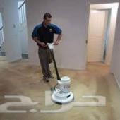 شركة تنظيف منازل بابها تنظيف خزانات ومجالس وف