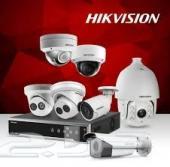 تركيب كاميرات المراقبة وشبكات الإنترنت
