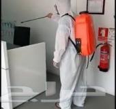 شركة تنظيف منازل فلل شقق مجالس خزانات فرشات