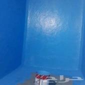 نظافة خزانات بالمواد التعقيم