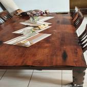 طاولة طعام ب6 كراسي