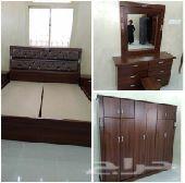 غرف نوم وطني جديد 6 قطع بسعر 1800ريال