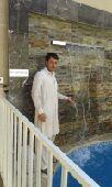معلم شلالات طاهر باكستانى