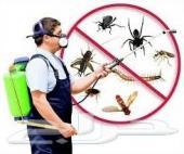 رش مبيدات مكافحه حشرات تنظيف شقق فلل خزانات