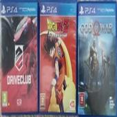 العاب للبيع Ps4 games