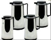 طقم ثلاجات شاي وقهوة من أربعة قطع ب 100 ريال