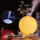 فواحه ضوء القمر ثلاث الوان تضع ماء مع عطر