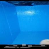 كشف تسريب المياه وعزل الخزانات والأسطح