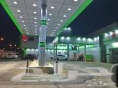 محطة بنزين وسط حائل للإيجار