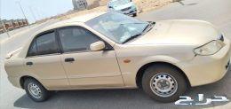 سياره مازدا للبيع 323 موديل 2001 بودي شدبلده