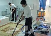تنظيف مجالس كنبات سجاد ستائر مع التعطير